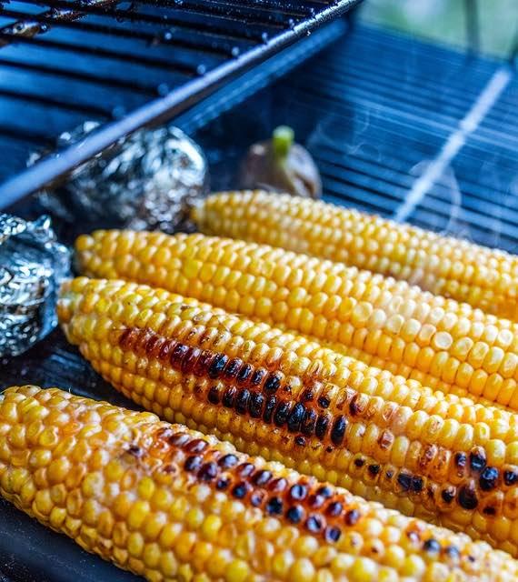 griller du Maïs au barbecue