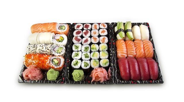 les différentes sortes de sushis